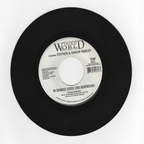 96 Degrees (2nd Generation) - Third World Feat Stephen And Damian Marley (7 Inch Vinyl)