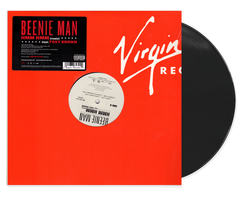 Hmm Hmm Remix - Beenie Man Feat. Foxy Brown (12 Inch Vinyl)
