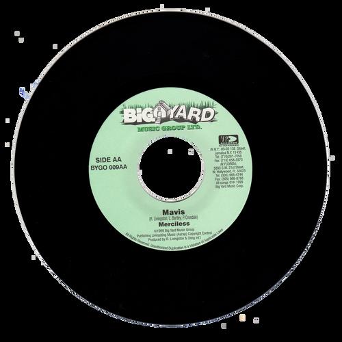 Mavis - Merciless (7 Inch Vinyl)
