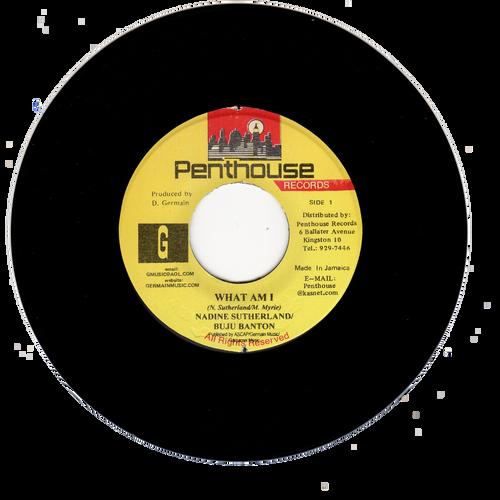 What Am I - Buju Banton & Nadine Sutherland (7 Inch Vinyl)