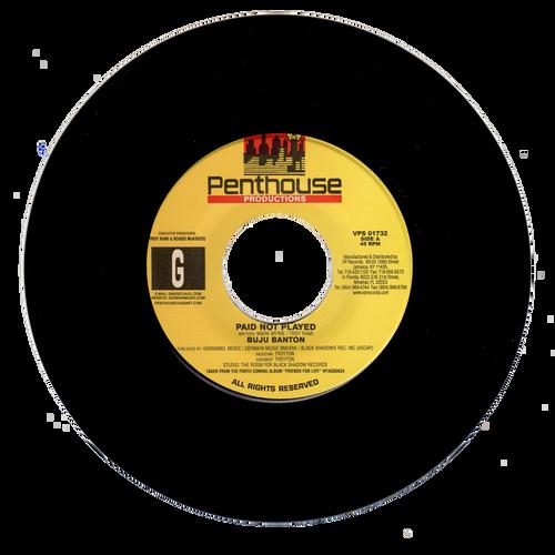 Paid Not Played - Buju Banton (7 Inch Vinyl)