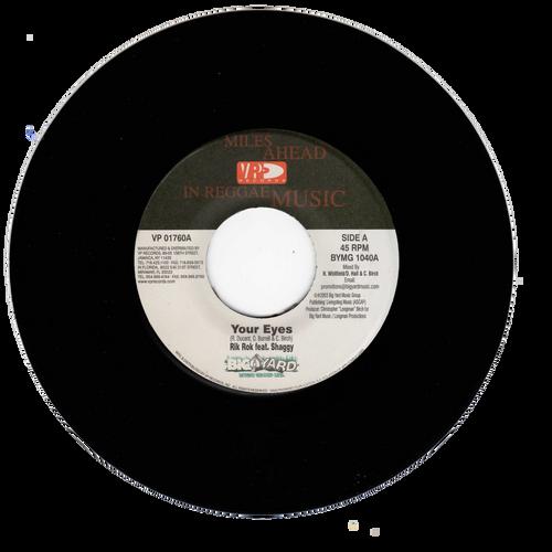 Your Eyes - Rik Rok Feat. Shaggy (7 Inch Vinyl)