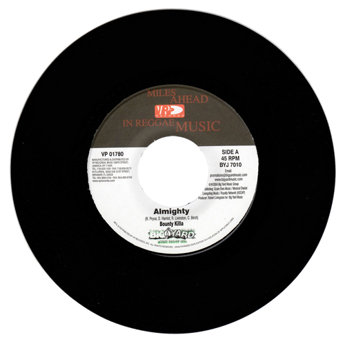 Almighty - Bounty Killer (7 Inch Vinyl)