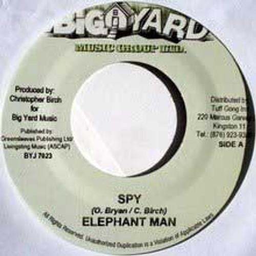 Spy - Elephant Man (7 Inch Vinyl)