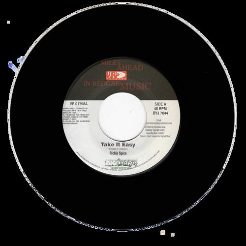 Take It Easy - Richie Spice (7 Inch Vinyl)