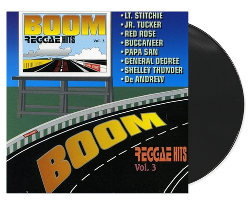 Boom Reggae Hits 3 - Various Artists (LP)