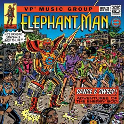 Dance And Sweep Adventures Of The Energy God - Elephant Man