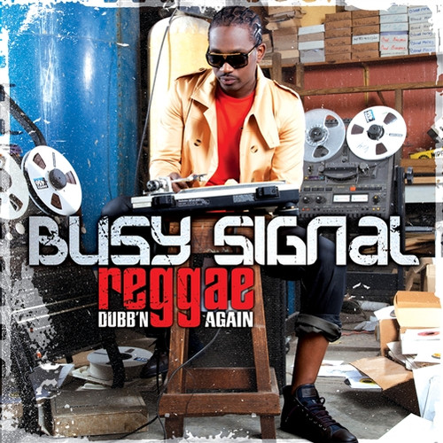 Reggae Music Dubb'n Again - Busy Signal (LP)