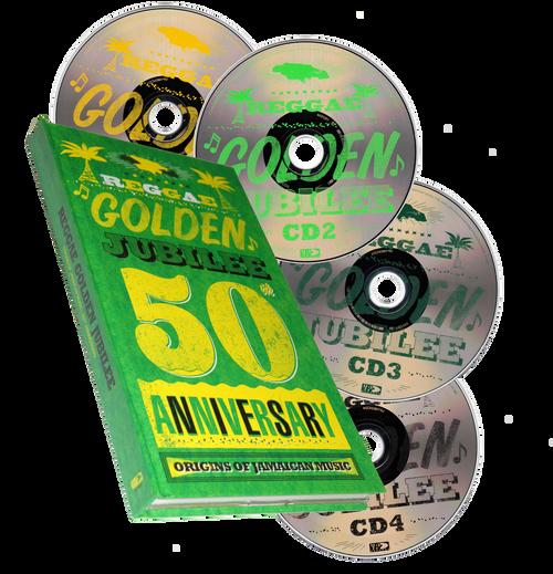 Reggae Golden Jubilee  (4cd Box Set) - Various Artists