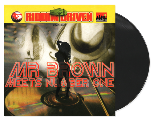 Mr.Brown Meets Number One - Riddim Driven - Various Artists (LP)