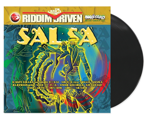Salsa - Riddim Driven - Various Artists (LP)