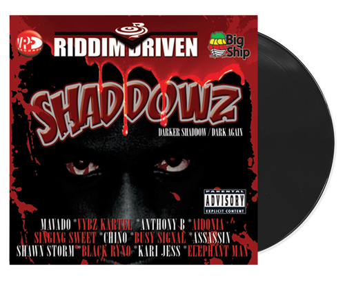 Shaddowz - Riddim Driven - Various Artists (LP)