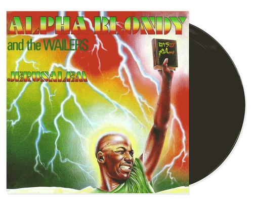 Jerusalem - Alpha Blondy (LP)