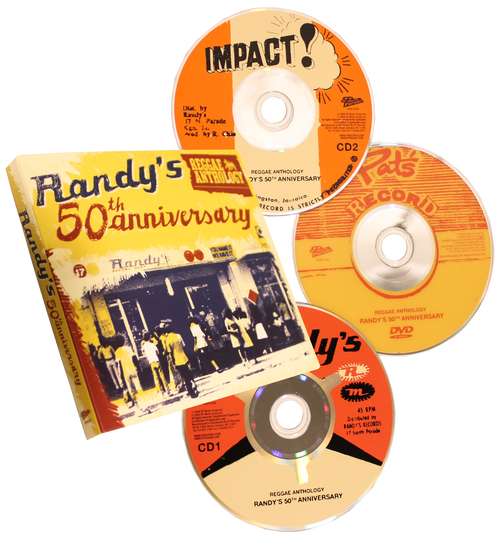 Randy's 50th Anniversay  Reggae Anthology -(2cd/dvd)