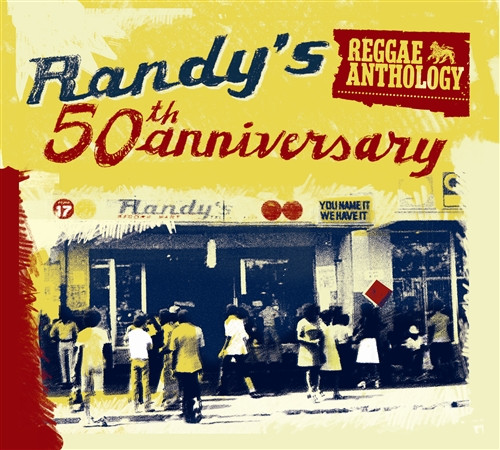Randy's 50th Anniversay (2cd/dvd) - Reggae Antho - Various Artists