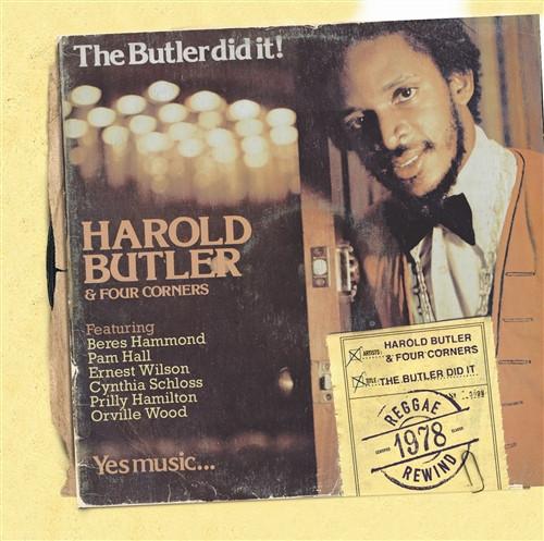 The Butler Did It - Harold Butler