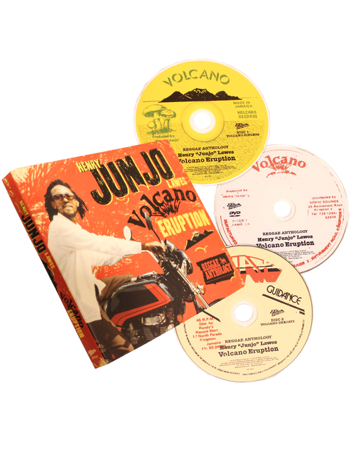 "Volcano Eruption (2cd/dvd) - Reggae Anthology - Henry ""junjo"" Lawes"