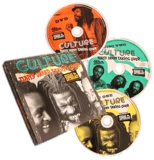 Reggae Anthology - Natty Dread Taking Over (2CD/DVD) - Culture