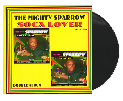 Soca Lover - Mighty Sparrow (LP)