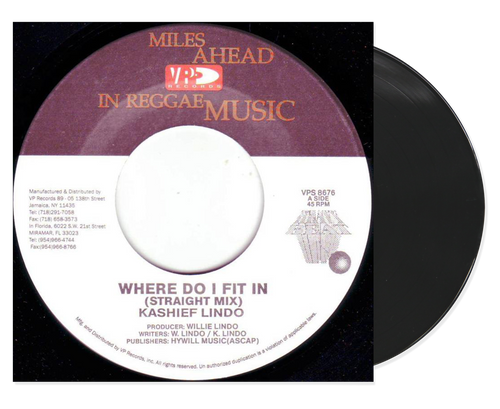 Where Do I Fit In - Kashief Lindo (7 Inch Vinyl)