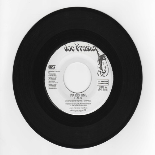Ina Dis Time - Itals (7 Inch Vinyl)