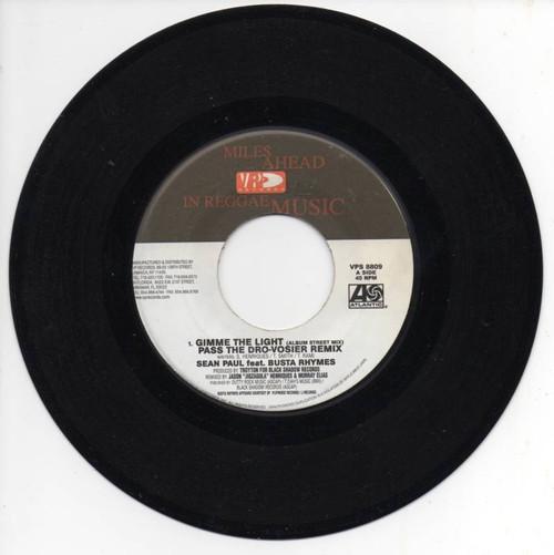 Gimme The Light - Sean Paul & Busta Rhymes (7 Inch Vinyl)