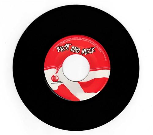 Frontline - Krosfyah Feat. Tony Bailey (7 Inch Vinyl)