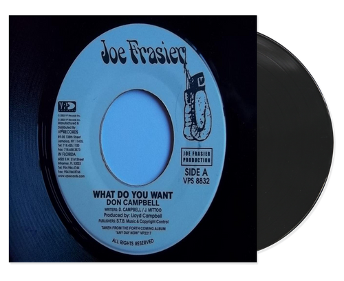 What Do You Want - Don Campbell (7 Inch Vinyl)