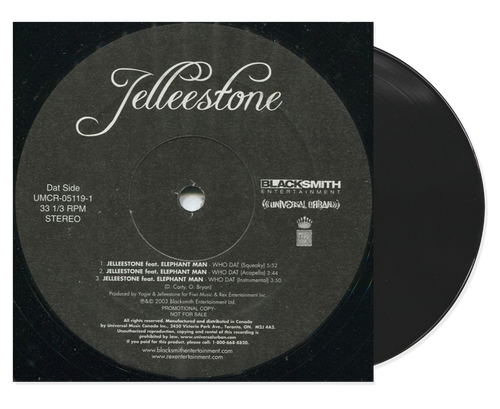 Who Dat - Elephant Man & Jelleestone (7 Inch Vinyl)