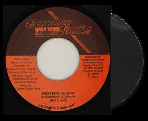Western Region - Jah Cure (7 Inch Vinyl)