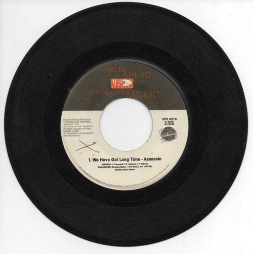 We Have Gal Long Time - Assassin (7 Inch Vinyl)