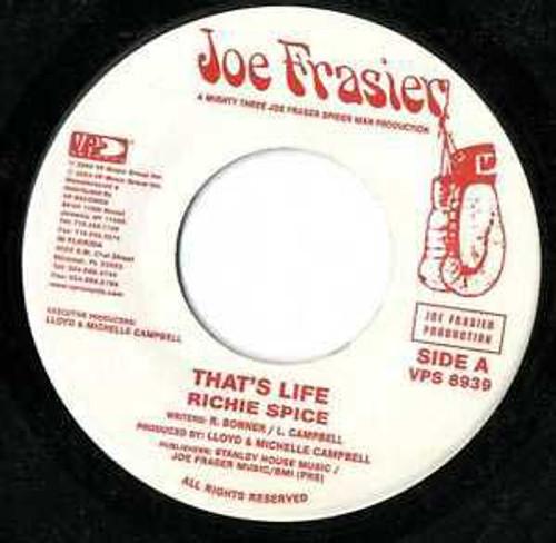 That's Life - Richie Spice (7 Inch Vinyl)