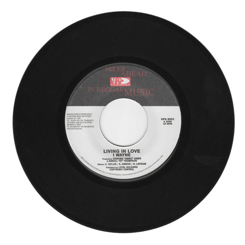 Living In Love - I Wayne (7 Inch Vinyl)
