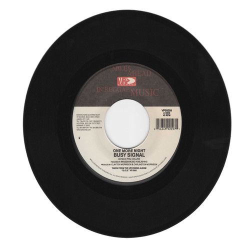 One More Night - Busy Signal (7 Inch Vinyl)