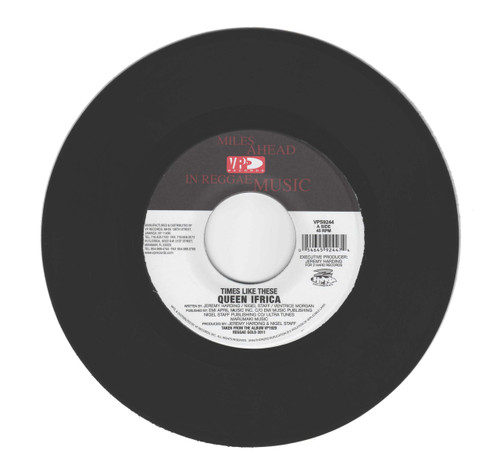 Times Like These - Queen Ifrica (7 Inch Vinyl) - Side A