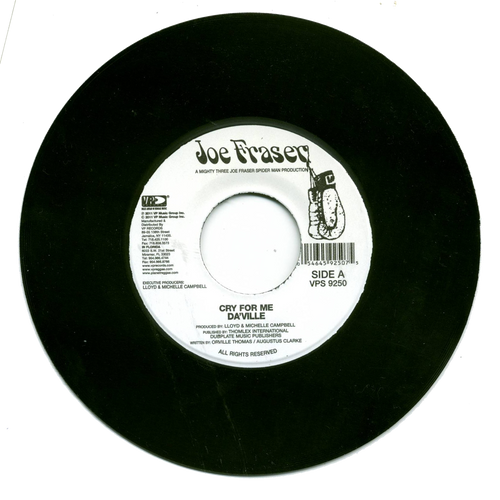 Cry For Me - Da'ville (7 Inch Vinyl)