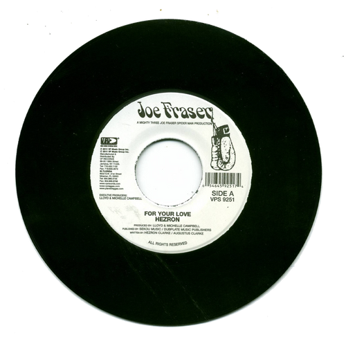For Your Love - Hezron (7 Inch Vinyl)