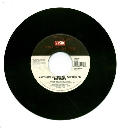 A Little Love - Mr.vegas (7 Inch Vinyl)