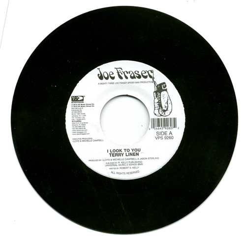 I Look To You - Terry Linen (7 Inch Vinyl)