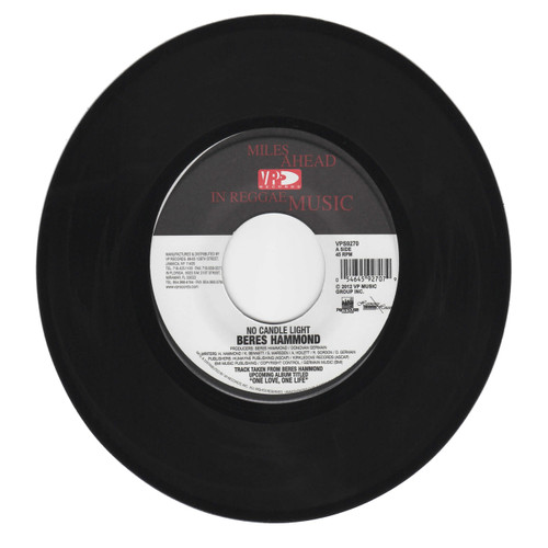 No Candle Light - Beres Hammond (7 Inch Vinyl)