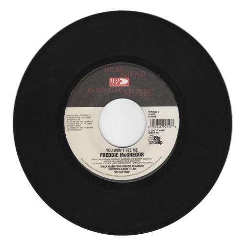 You Won't See Me - Freddie Mcgregor (7 Inch Vinyl)