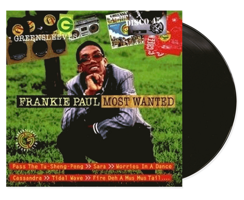 Most Wanted Frankie Paul - Frankie Paul (LP)
