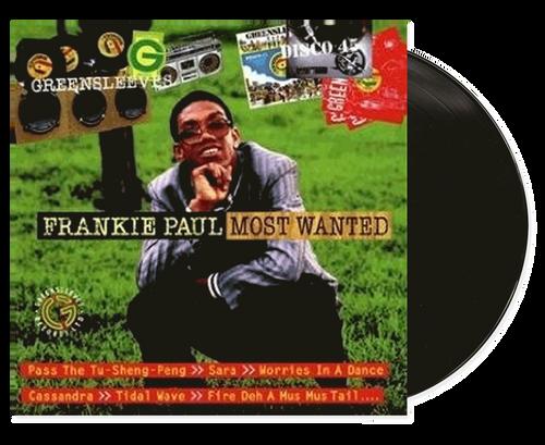 Most Wanted Frankie Paul - Frankie Paul (LP)