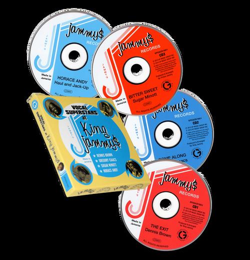 Vocal Super Stars At King Jammys (4cd Box Set) - King Jammys