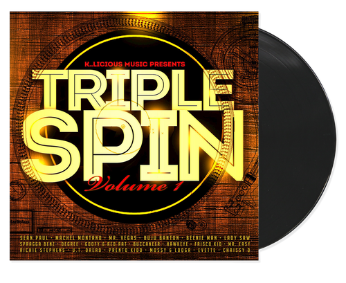 Triple Spin Vol.1 - Various Artists (LP)