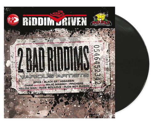 2 Bad Riddims - Riddim Driven - Various Artists (LP)