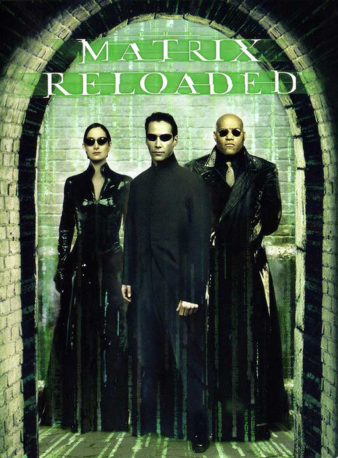 Matrix Reloaded - Keanu Reeves (DVD)