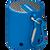 Mini Bluetooth Speaker - Blue