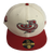 Fitted Cap Cream/ Red - Riddim Driven