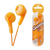 Orange Jvc Gummy Earphones Bass Boost - Jvc Gumy Earphones
